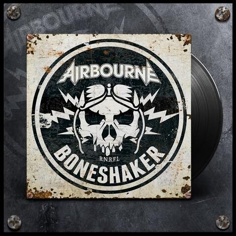 √Boneshaker (Black LP) von Airbourne - LP jetzt im Bravado Shop