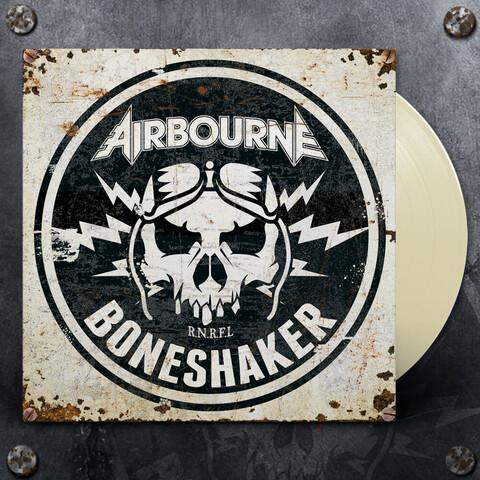 √Boneshaker (Ltd. Ivory Colour Vinyl) von Airbourne - LP jetzt im Bravado Shop