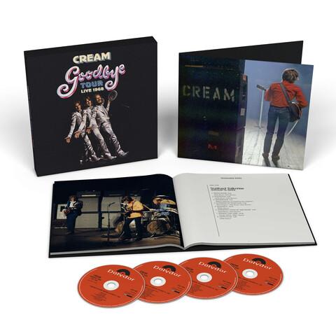 Goodbye Tour - Live 1968 (Ltd. 4CD Boxset) von Cream - Boxset jetzt im Bravado Shop
