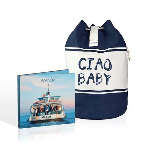 √Ciao! (Deluxe CD + Seesack - limitierte Auflage) von Wanda - CD Bundle jetzt im Bravado Shop