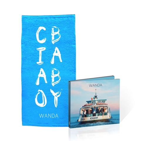 √Ciao! (Deluxe CD + Duschtuch - limitierte Auflage) von Wanda -  jetzt im Bravado Shop