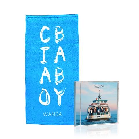 √Ciao! (CD + Duschtuch - limitierte Auflage) von Wanda -  jetzt im Bravado Shop