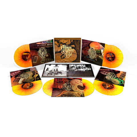 √Trouble No More (Ltd. Coloured LP Box) von The Allman Brothers Band - Box set jetzt im Bravado Shop