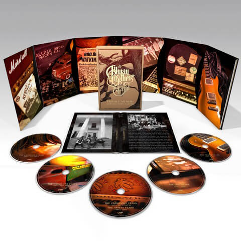 √Trouble No More (Ltd. 5CD Boxset) von The Allman Brothers Band - Box set jetzt im Bravado Shop