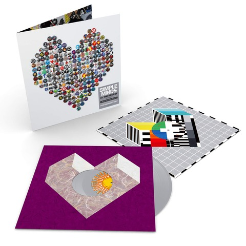 40: The Best of 1979-2019 (Ltd. Coloured 2LP) von Simple Minds - 2LP jetzt im Bravado Shop
