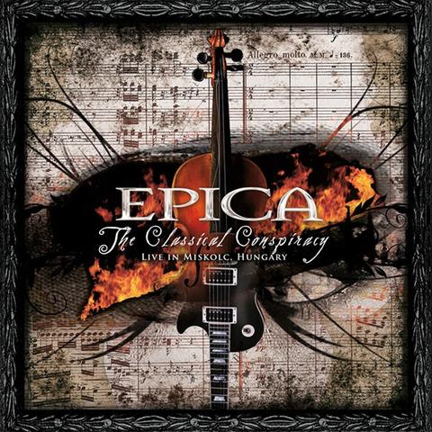 The Classical Conspiracy von Epica - 2CD jetzt im Bravado Store