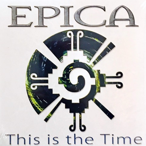 √This Is The Time von Epica - Vinyl Single jetzt im Bravado Shop