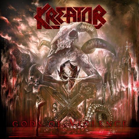 √Gods Of Violence von Kreator - LP jetzt im Bravado Shop