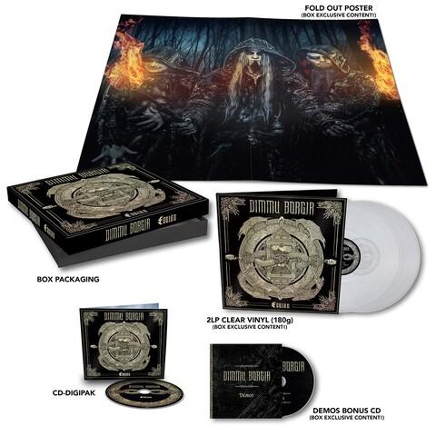 √Eonian (CD-Boxset) von Dimmu Borgir - CD jetzt im Bravado Shop