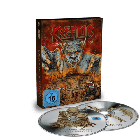 London Apocalypticon - Live At The Roundhouse (CD-Digi + BluRay) von Kreator - Deluxe CD jetzt im Bravado Shop