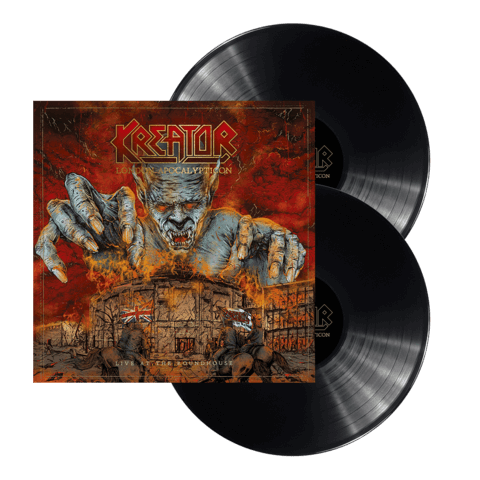 √London Apocalypticon - Live At The Roundhouse von Kreator - LP jetzt im Bravado Shop