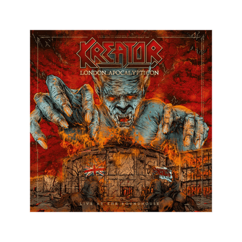 London Apocalypticon - Live At The Roundhouse von Kreator - CD jetzt im Bravado Shop