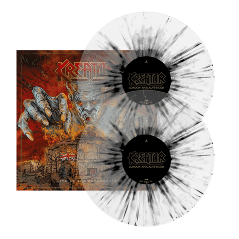 √London Apocalypticon - Live At The Roundhouse (Ltd. Clear / Black Splatter LP) von Kreator - LP jetzt im Bravado Shop