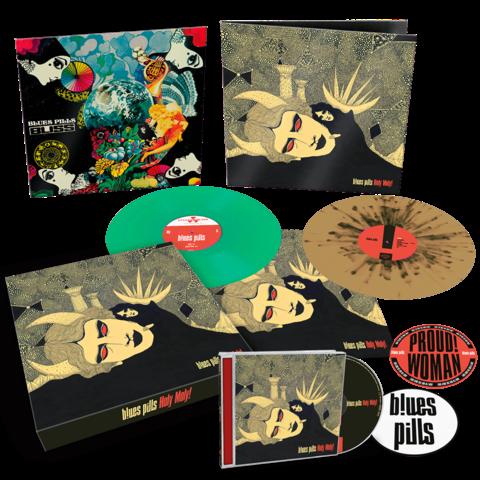 √Holy Moly! (Ltd. Vinyl Box) von Blues Pills - LP Box jetzt im Bravado Shop