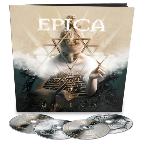 √Omega (4CD Earbook) von Epica - 4CD jetzt im Bravado Shop