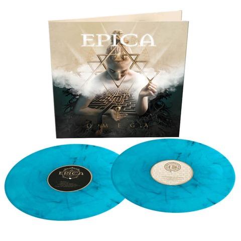 √Omega (Ltd. Turquoise / Black Marbled 2LP) von Epica - 2LP jetzt im Bravado Shop
