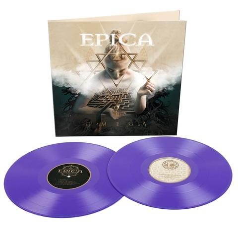 Omega (Ltd. Purple Vinyl) von Epica - 2LP jetzt im Bravado Shop