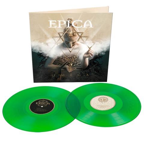 Omega (Ltd. Transparent Green Vinyl) von Epica - 2LP jetzt im Bravado Shop