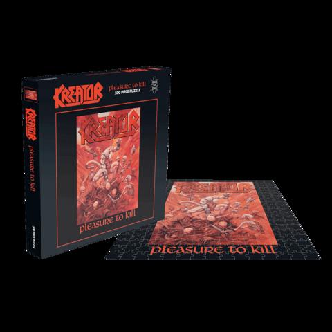 √Pleasure To Kill von Kreator - puzzle jetzt im Bravado Shop