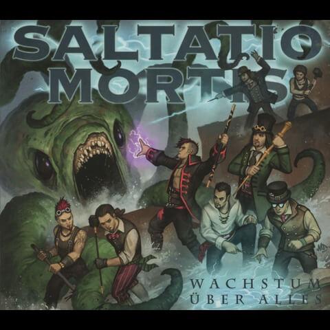 √Wachstum Über Alles (Digi) von Saltatio Mortis - Maxi Single CD jetzt im Bravado Shop