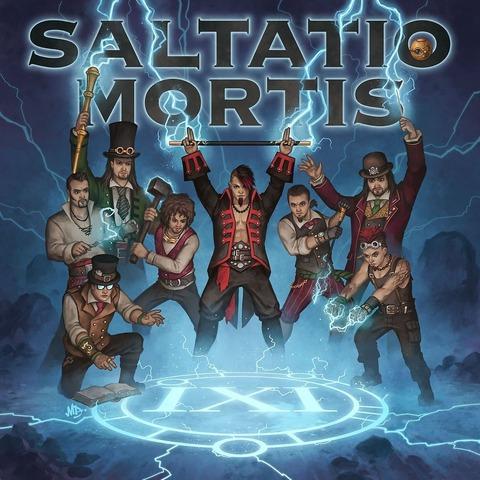√Das Schwarze Einmaleins (Ltd.Black Doppelvinyl) von Saltatio Mortis - LP jetzt im Bravado Shop