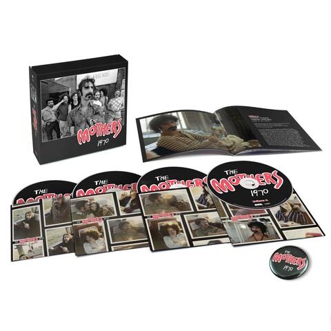 √The Mothers 1970 (Ltd. 4CD Boxset) von Frank Zappa - Box set jetzt im Bravado Shop