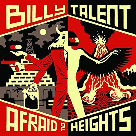 √Afraid of Heights von Billy Talent - CD jetzt im Bravado Shop