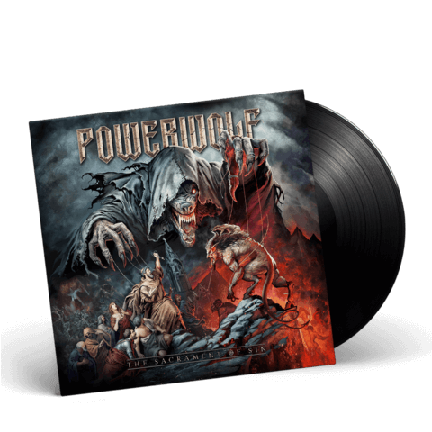 √The Sacrament of Sin (LP) von Powerwolf - LP jetzt im Bravado Shop
