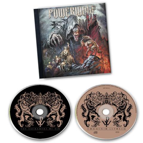 √The Sacrament of Sin (2CD) von Powerwolf - 2CD jetzt im Bravado Shop