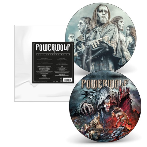 √The Sacrament of Sin (Ltd. Picture Disc Vinyl) von Powerwolf - LP jetzt im Bravado Shop