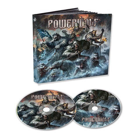 √Best Of The Blessed (Ltd. 2CD Mediabook) von Powerwolf - 2CD jetzt im Bravado Shop