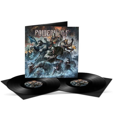 √Best Of The Blessed von Powerwolf - 2LP jetzt im Bravado Shop