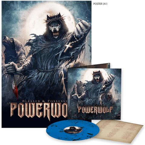 √Blessed & Possessed (Marbled LP + Poster) von Powerwolf -  jetzt im Bravado Shop