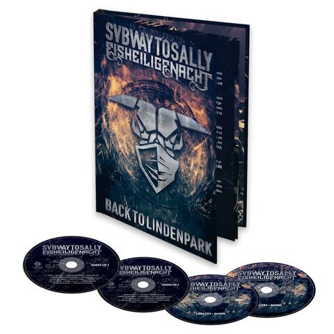 √Eisheilige Nacht: Back To Lindenpark (Mediabook - 2CD + DVD + BluRay) von Subway To Sally - Mediabook jetzt im Bravado Shop