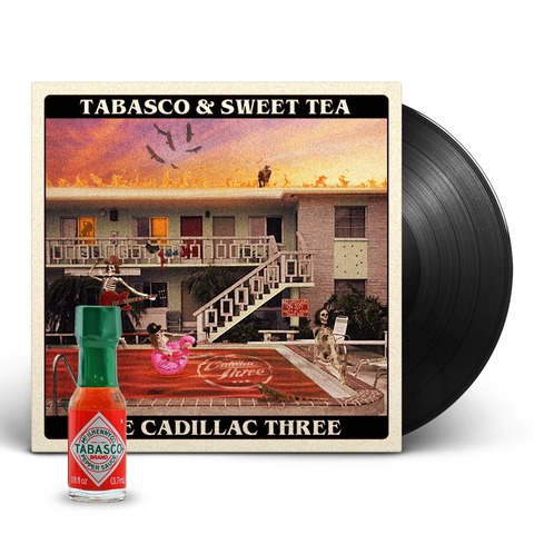 √Tabasco & Sweet Tea (Ldt. Exclusive Vinyl + Tabasco Sauce) von The Cadillac Three - LP jetzt im Bravado Shop