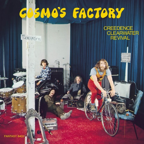 Cosmo's Factory (Half Speed Master 2LP) von Creedence Clearwater Revival - LP jetzt im Bravado Shop