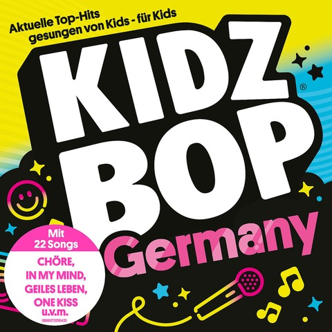 √Kidz Bop Germany von KIDZ BOP Kids - CD jetzt im Bravado Shop