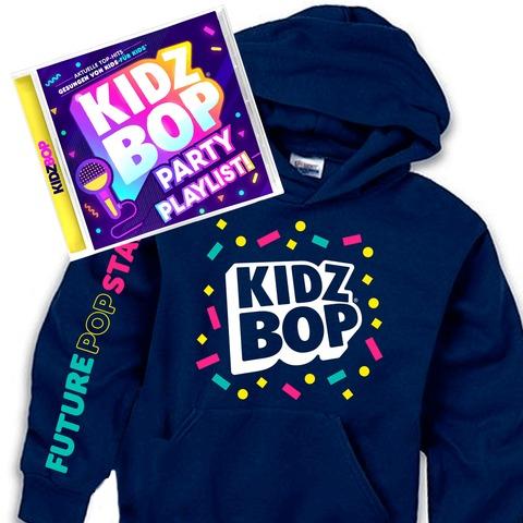 √KIDZ BOP Party Playlist (Geniales Bundle: CD + Hoodie) von KIDZ BOP Kids -  jetzt im Bravado Shop