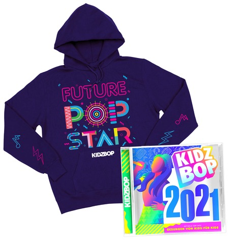 √KIDZ BOP 2021 (Ltd. Bundle CD + Hoodie) von KIDZ BOP Kids - CD-Bundle jetzt im Bravado Shop