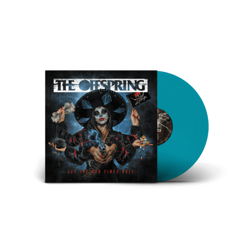 √Let The Bad Times Roll (Excl. Sea Blue Vinyl) von The Offspring - Coloured LP jetzt im Bravado Shop