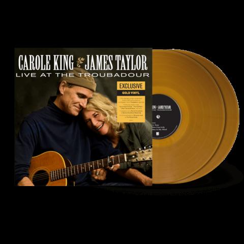 Live At The Troubadour (Transparent Gold Vinyl 2LP) von Carole King & James Taylor - 2LP jetzt im Bravado Store
