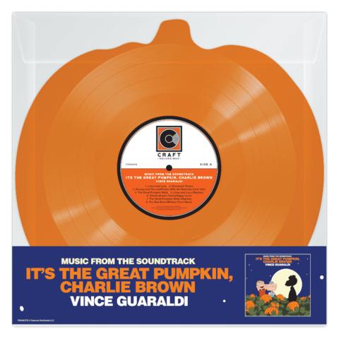 It's The Great Pumpkin, Charlie Brown (Orange Shape LP) von Vince Guaraldi - Shaped LP jetzt im Bravado Shop