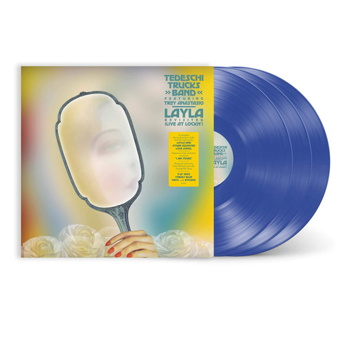 √Layla Revisited - Live at LOCKN' (Ltd. Translucent Cobalt Blue 3LP) von Tedeschi Trucks Band - Coloured 3LP jetzt im Bravado Shop