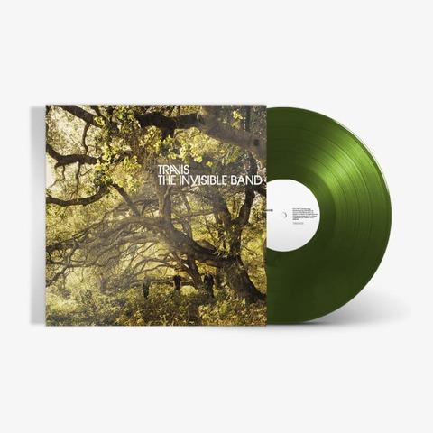 The Invisible Band von Travis - Forest Green Vinyl LP jetzt im Bravado Store