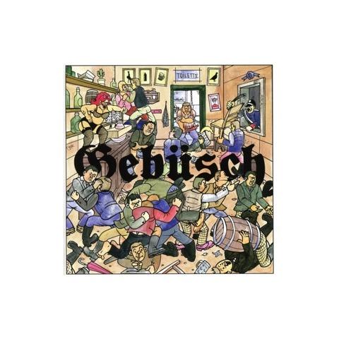 √Gebüsch von MC Bomber - CD jetzt im Bravado Shop