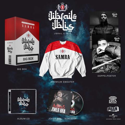 √JIBRAIL UND IBLIS (Ltd. Deluxe Box) von Samra - Box jetzt im Bravado Shop