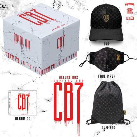 √CB7 (Ltd. Deluxe Box) von Capital Bra - Box jetzt im Bravado Shop