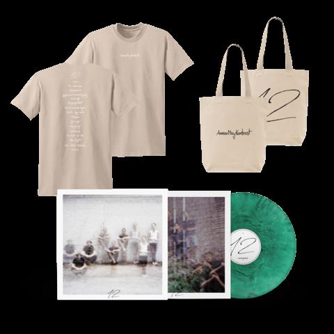 12 (Ltd. Deluxe LP + Oxfam T-Shirt Herren + Beutel) von AnnenMayKantereit - LP Bundle jetzt im Bravado Store