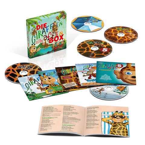 Die Giraffenaffen Box (Limitierte 5 CD Box) von Giraffenaffen - Boxset jetzt im Bravado Shop