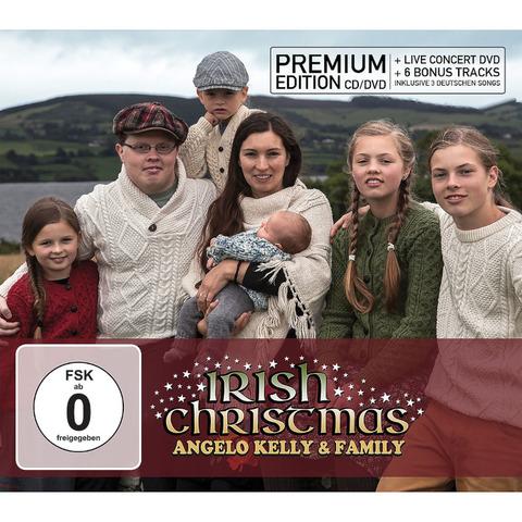 Irish Christmas von Angelo Kelly & Family - Premium Edition CD + DVD jetzt im Bravado Store
